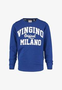 Vingino - LOGO CARRIER - Long sleeved top - admiral blue - 0