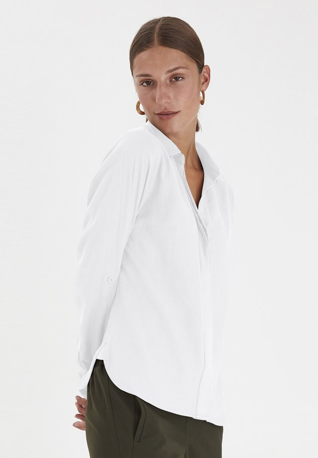 PXPENNY   - Button-down blouse - bright white