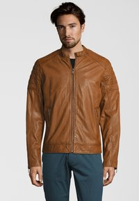 Capitano - IOWA - Leather jacket - cognac - 0