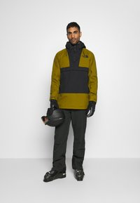 The North Face - SILVANI ANORAK - Ski jacket - green/black - 1