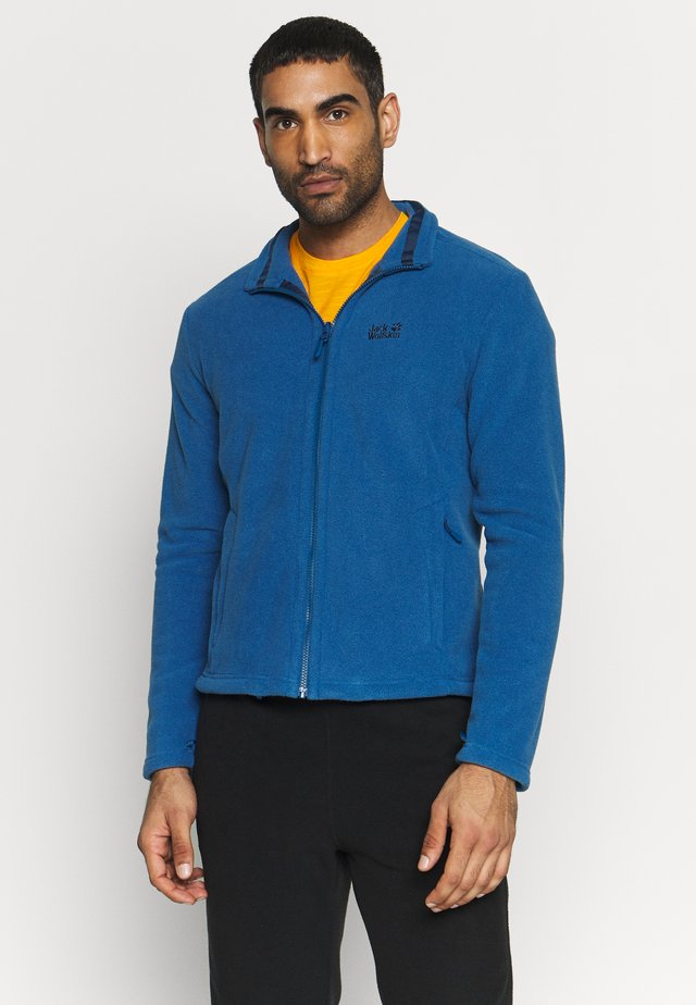 MOONRISE JACKET MEN - Fleecejacka - indigo blue