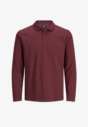 Polo shirt - red mahogany