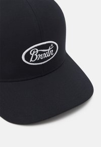 Brixton - PARSONS UNISEX - Cappellino - black/white - 3