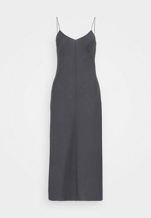 VALERIE LONG SLIP - Day dress - charcoal