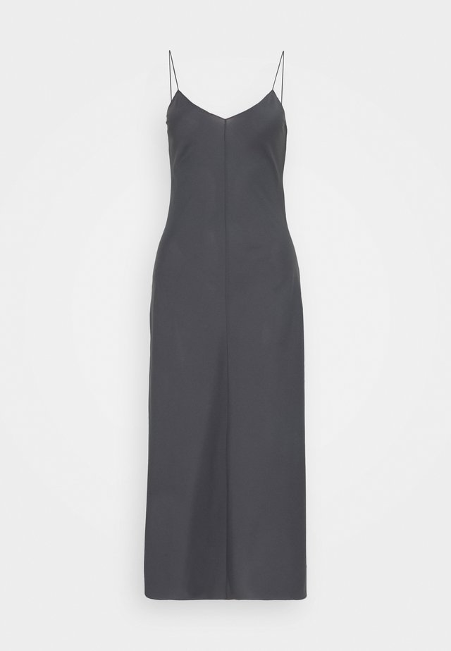 VALERIE SLIP - Cocktail dress / Party dress - charcoal