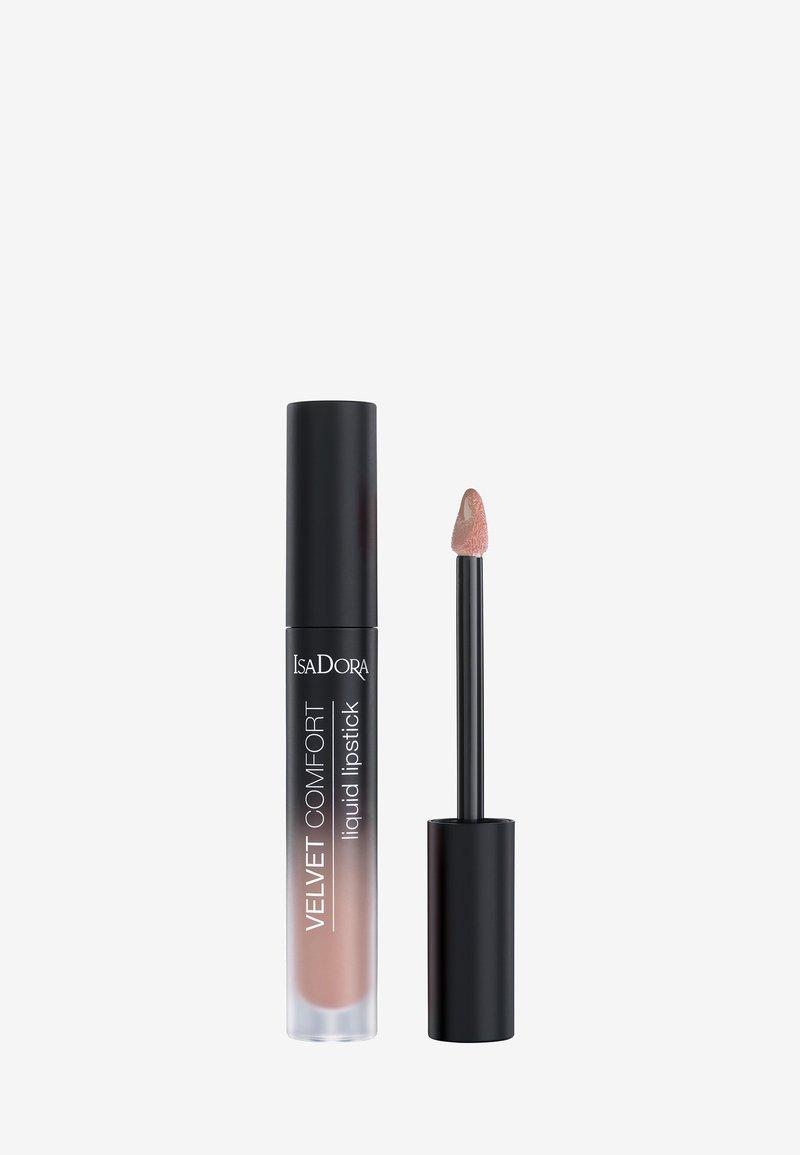 IsaDora - VELVET COMFORT LIQUID LIPSTICK - Liquid lipstick - nude blush