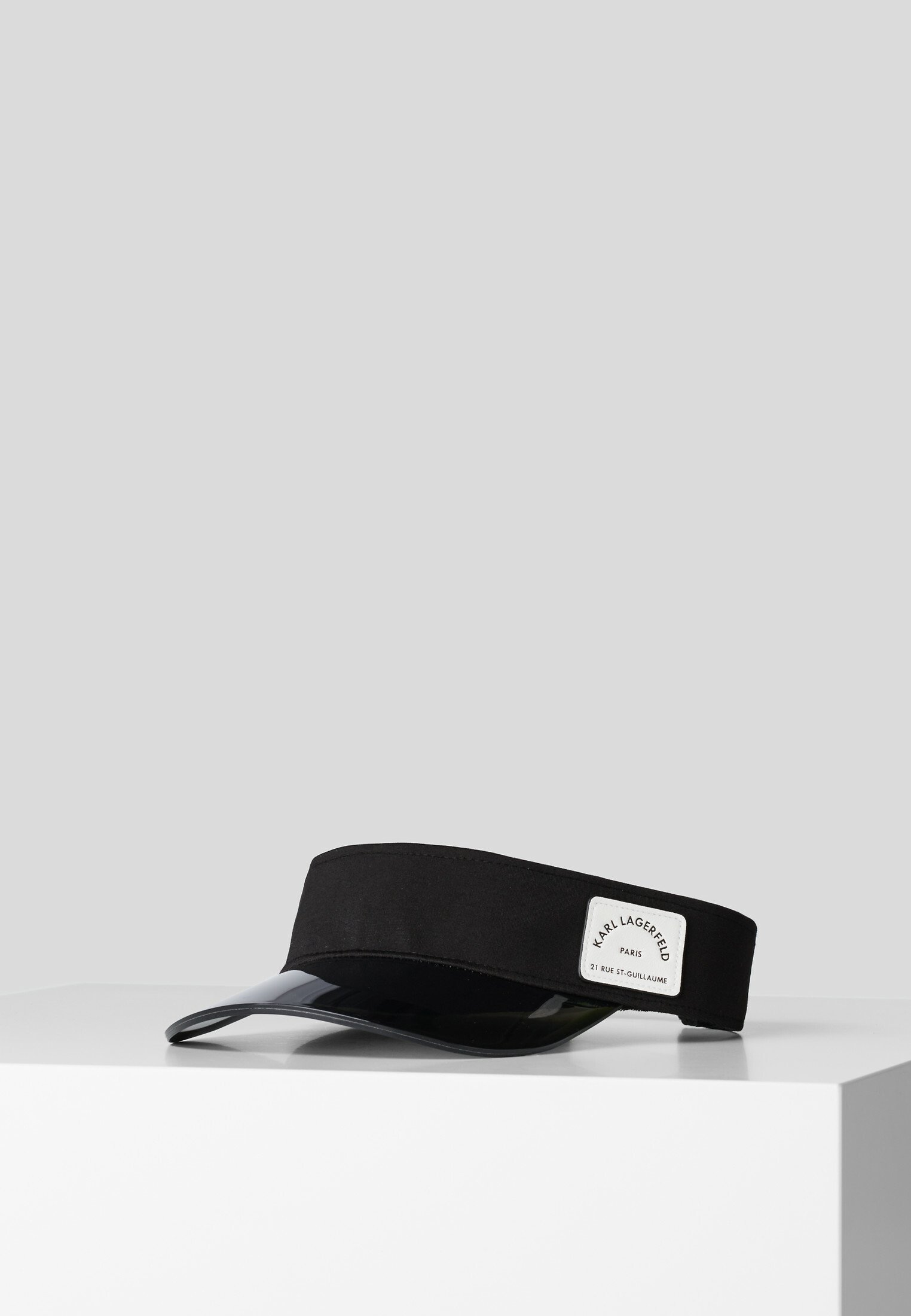 New And Fashion Accessories KARL LAGERFELD Cap black/ white U7z1NGcSk