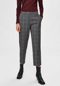 Selected Femme - Pantaloni - medium grey melange - 0
