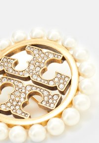 Tory Burch - MILLER PAVE PEARL BROOCH - Other - gold-coloured - 2