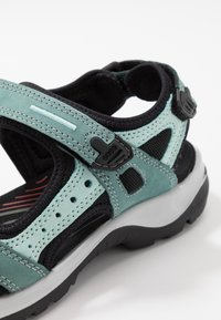 ECCO - OFFROAD - Walking sandals - trellis/eggshell blue - 5