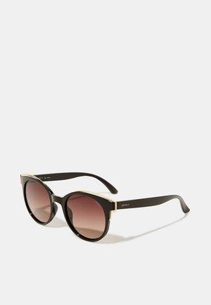 SONNENBRILLE MIT POLARISIERTEN GLÄSERN - Sunglasses - brown