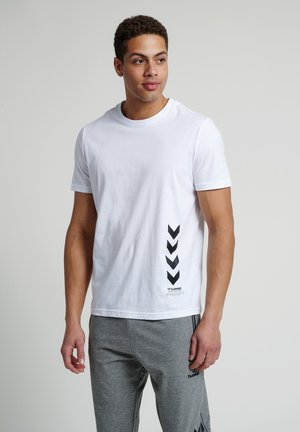 DUNCAN  - Print T-shirt - white