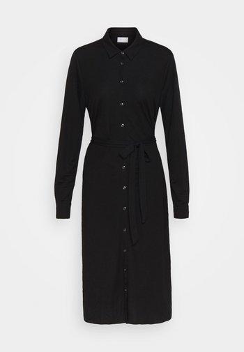 VISAFINA MIDI DRESS - Shirt dress - black
