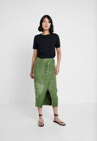 Free People - ECHO SKIRT - Pencil skirt - moss - 1