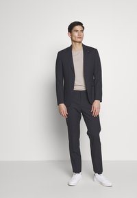 Tommy Hilfiger Tailored - SMALL CHECK SLIM FIT SUIT  - Suit - grey - 1
