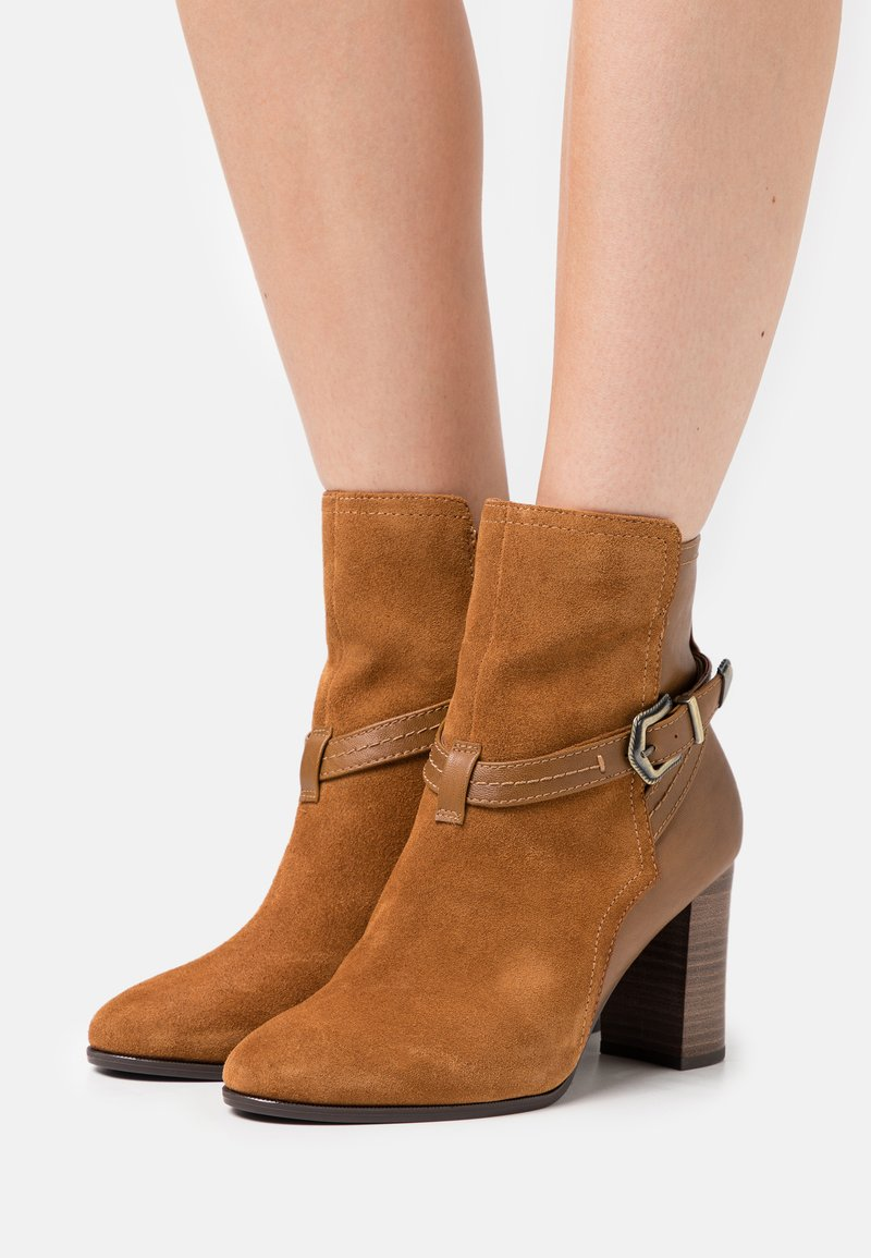 Tamaris - BOOTS - Classic ankle boots - muscat