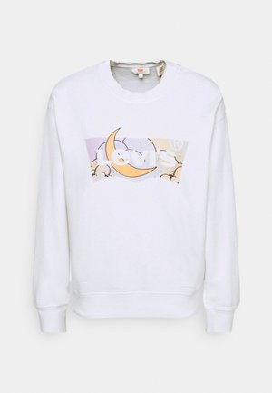 GRAPHIC STANDARD CREW - Sweatshirt - white