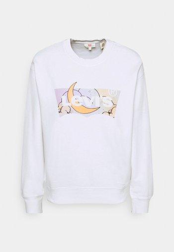 GRAPHIC STANDARD CREW - Sweatshirt - white