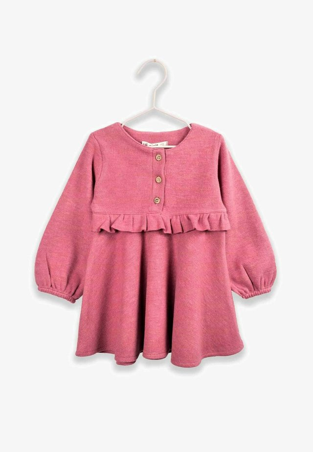 RUFFLED THESSALONIKI DRESS 1 TO 7 YEARS - Day dress - rose