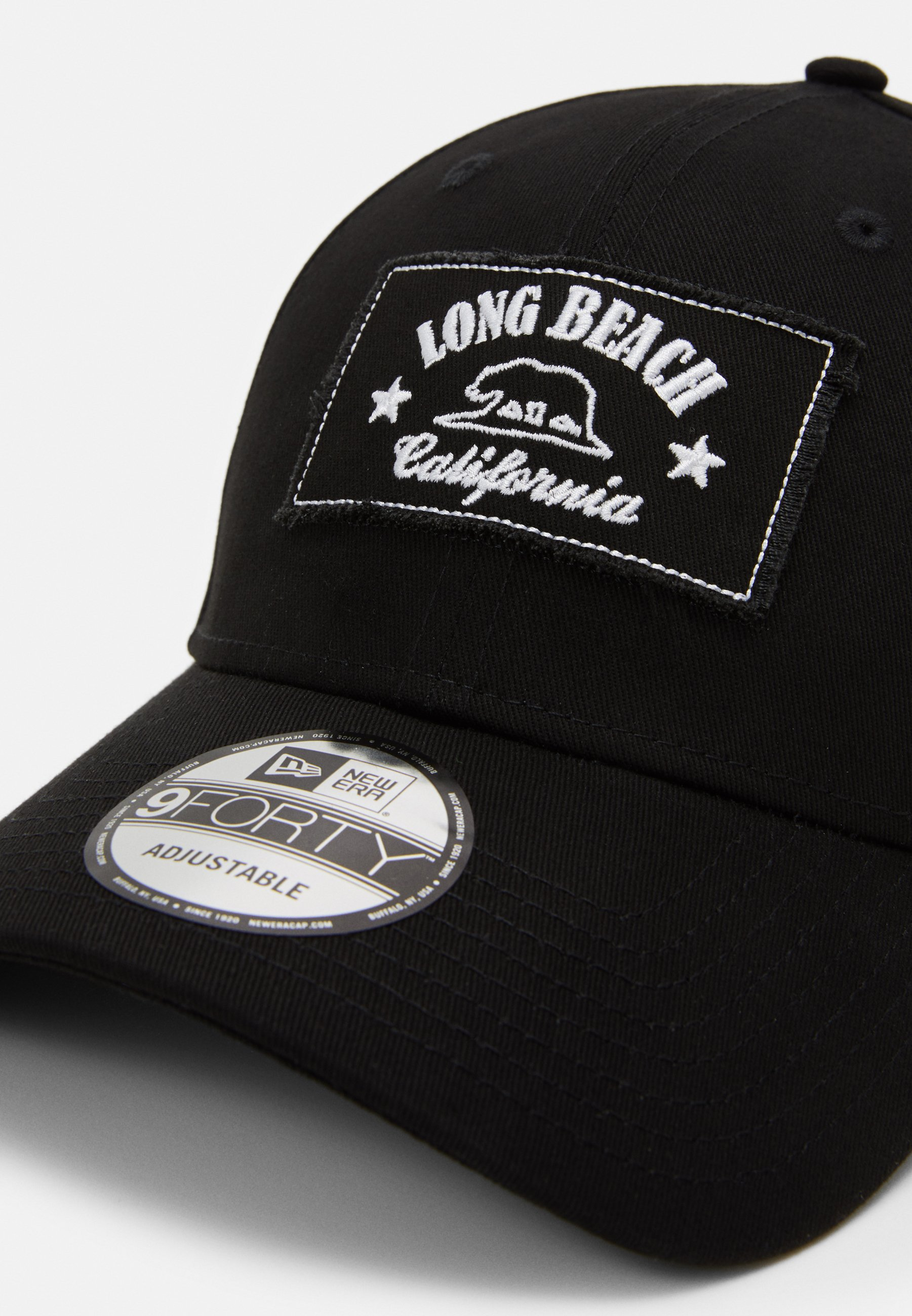 New Era LONG BEACH - Cap - black/svart dhL4ymesGvMDHHJ
