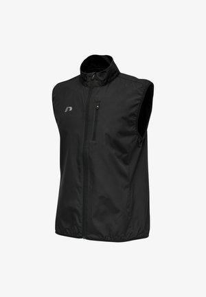 RUNNING -NEWLINE CORE  - Waistcoat - schwarz