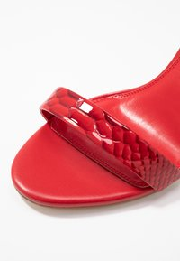 Dune London WIDE FIT - WIDE FIT MYDRO - High heeled sandals - red - 2