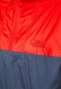 The North Face - CYCLONE - Windbreaker - horizon red/vintageindigo - 2