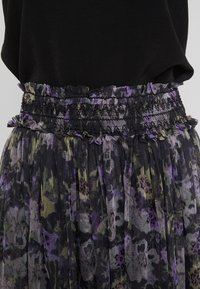 Needle & Thread - LILACS SMOCKED BALLERINA SKIRT - Jupe trapèze - graphite - 6