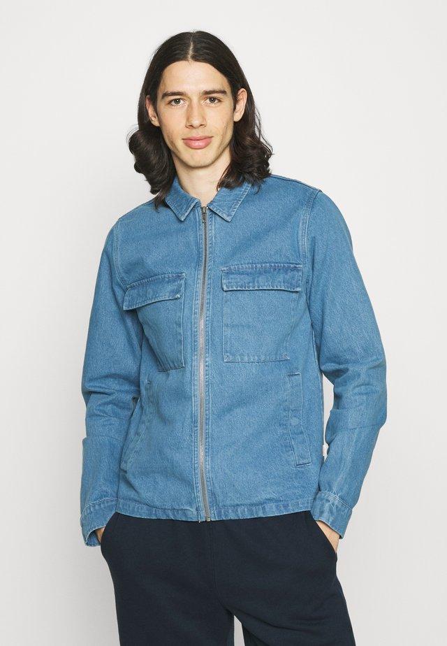 UTILITY JACKET - Jeansjakke - blue