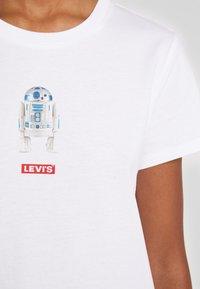 Levi's® - STAR WARS THE PERFECT TEE - T-shirt imprimé - white - 5