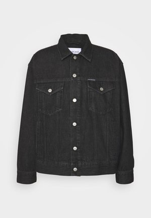 DAD JACKET - Jeansjacka - denim black