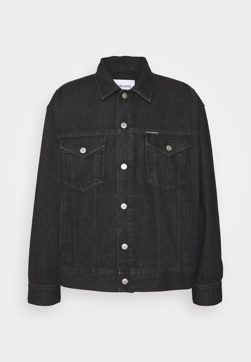 Calvin Klein Jeans - DAD JACKET - Denim jacket - denim black