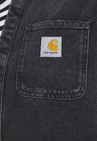 Carhartt WIP - SALINAC JAC MAITLAND - Camicia - black middle worn wash - 5