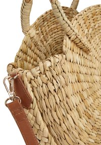Next - CIRCLE STRAW - Handbag - beige - 3