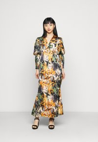 Never Fully Dressed Petite - BLOOM PRINT LINDOS DRESS - Vapaa-ajan mekko - navy/multi - 0