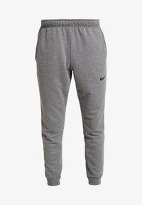 Nike Performance - DRY PANT TAPER - Træningsbukser - charcoal heathr/black - 4