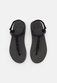 Ecoalf - MALTA - T-bar sandals - black - 4