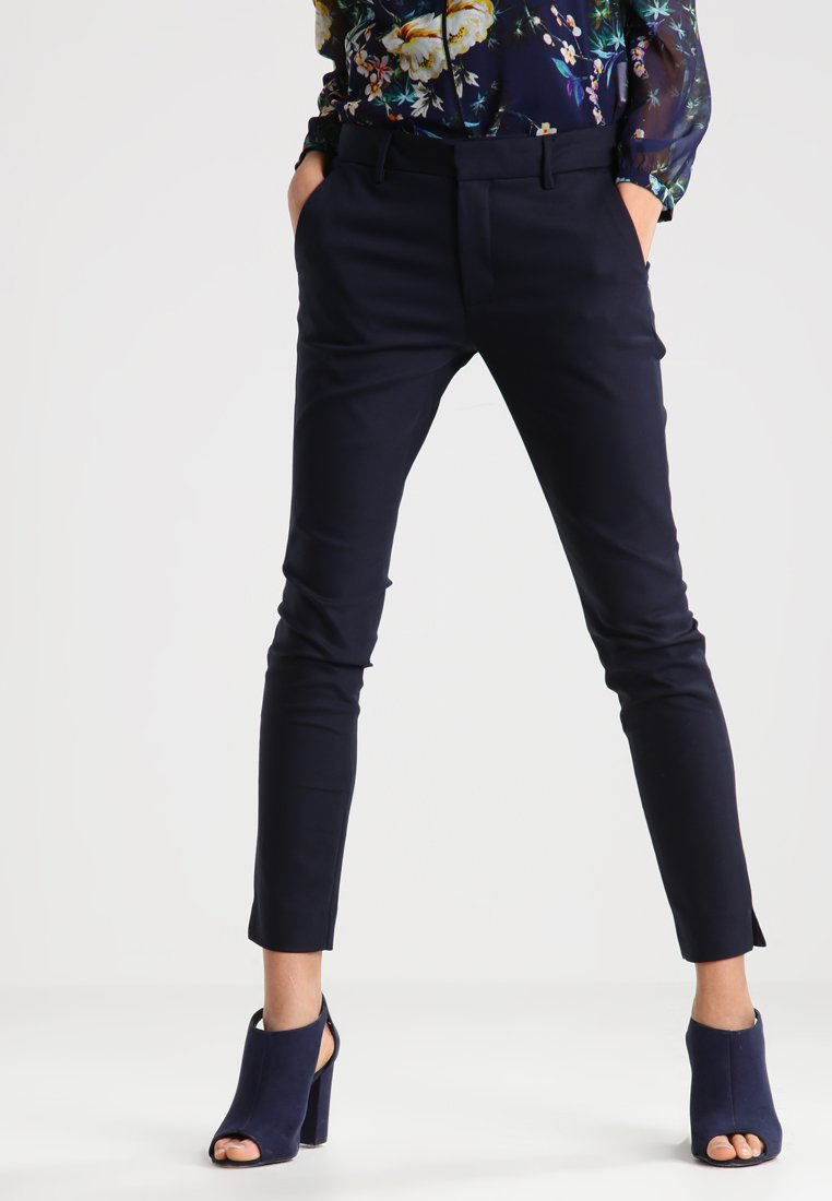 Mos Mosh - ABBEY NIGHT - Trousers - navy