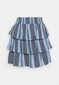 CECILIE copenhagen - BECKY SKIRT - A-line skirt - cloud - 0