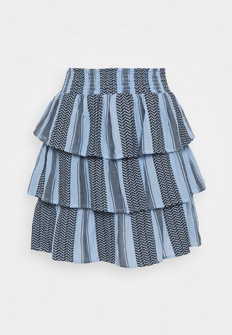 CECILIE copenhagen - BECKY SKIRT - A-line skirt - cloud