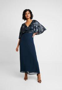 Lace & Beads - ALEXA MAXI - Společenské šaty - navy - 1