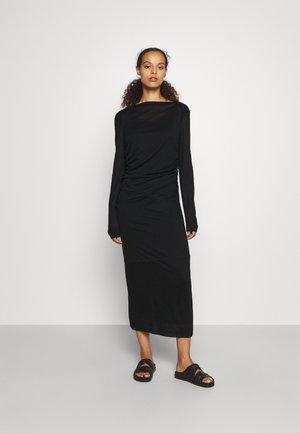 UMA DRESS - Jumper dress - black