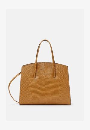 MINIMAL MINI TOTE - Käsilaukku - light brown