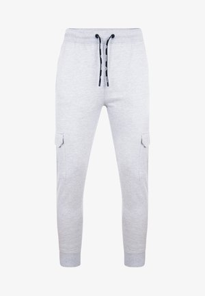 STEFAN - Cargo trousers - grey marl