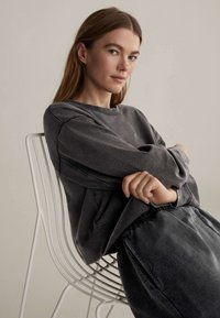 OYSHO - Sweatshirt - dark grey - 5