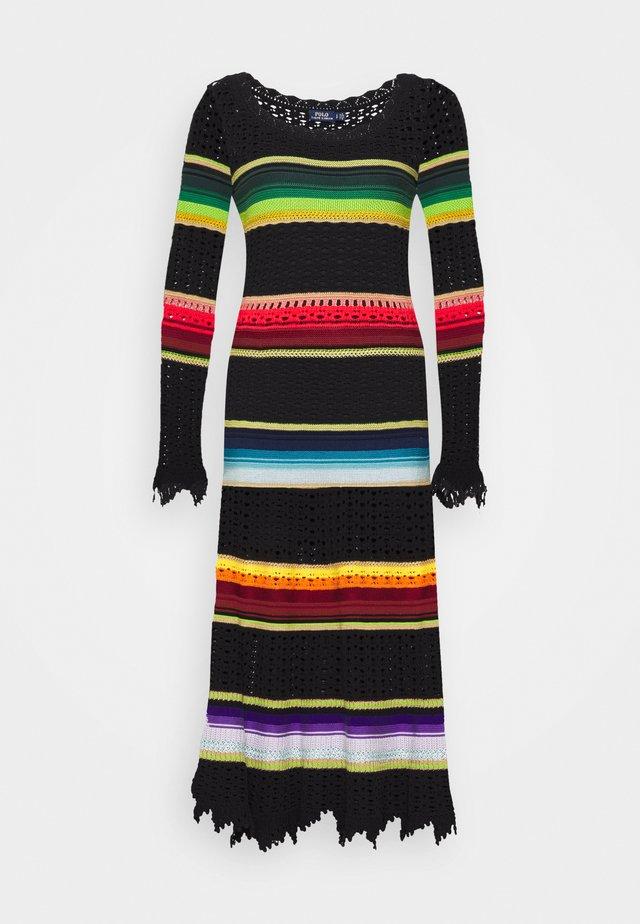 CLASSIC LONG SLEEVE CASUAL DRESS - Jumper dress - multi