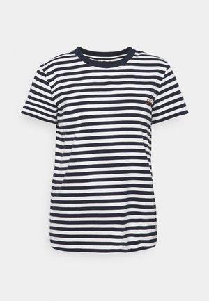 FIONA O NECK - Camiseta estampada - dark sapphire