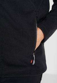 Vaude - MENS ROSEMOOR JACKET - Fleecová bunda - black - 4