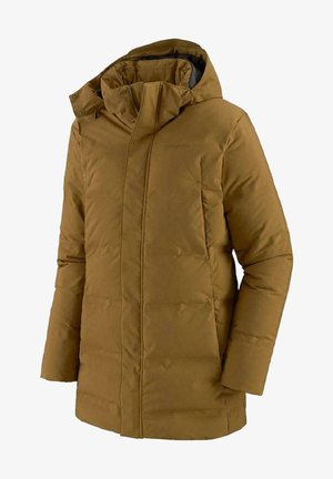 Down coat - mulch brown