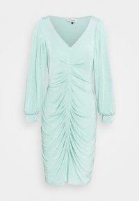 Closet - PLEATED FRONT PENCIL DRESS - Shift dress - mint - 4